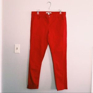 Plus Size Red Skinny Jeans ✨